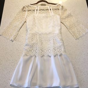 EUC Vintage Nuna Barran Lace Boho Wedding Dress